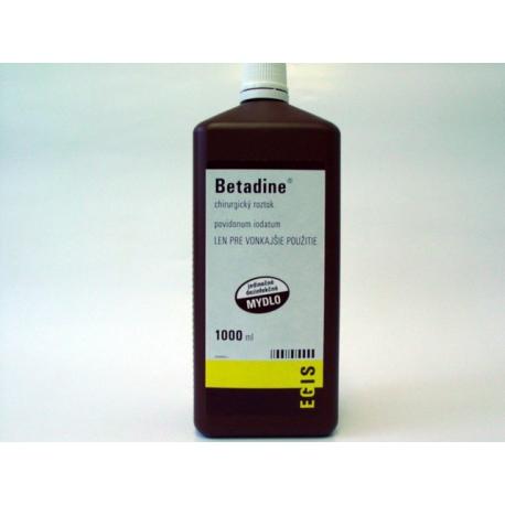 Betadine chirurgický roztok - hnedý