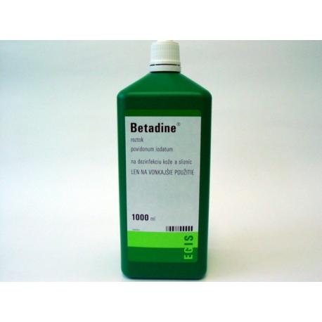 Betadine sol loc 1x1000 ml