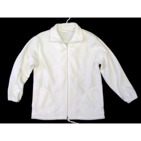 Mikina pracovné oblečenie farba biela