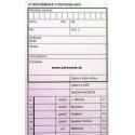 01 - Biochemické vyš. krvi - 80x300 mm, 100-list., samoprepis.