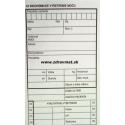 03 - Biochemické vyš. moču - 80x300 mm, 100-list., samoprep