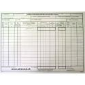 Záznam o prevádzke sanitného motorového vozidla - A4 blok