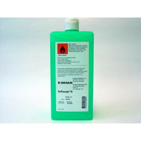 SOFTASEPT N dezinfekcia pokožky