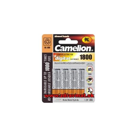 Camelion batérie nabíjateľné NI-MH 1800mA AA 4ks
