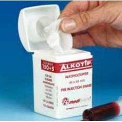 ALKOTIP ECOBOX - Alkoholové tampóny