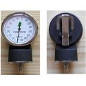 Manometer - manometrické hodiny k tlakomeru