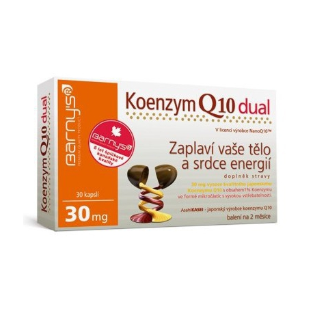 Koenzym Q10 tabletky 30mg dual