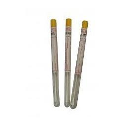 Detoxikovaný tampón v skúmavke