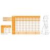 PROmax STANDARD rozmerová tabuľka