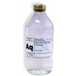 Aqua pro injectione 500ml