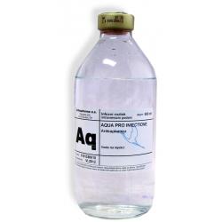 Aqua pro injectione Imuna sklo