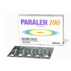 PARALEN 100 sup 5x100 mg