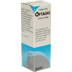 OFTAGEL očný gél 10g