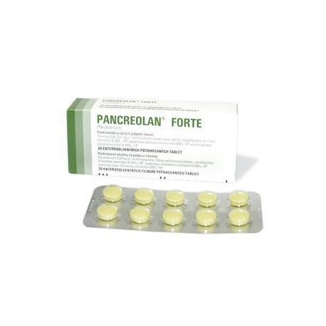 PANCREOLAN FORTE tbl 30x 220mg