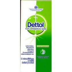 Dettol 0,2% antiseptický sprej aer deo 1x100 ml (fľ.HDPE s rozprašovačom)