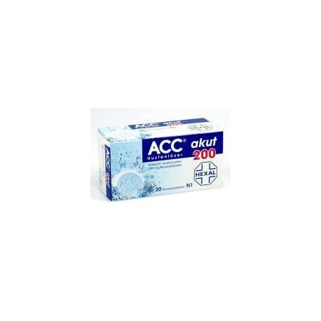 ACC 200 šumivé tablety (tbl eff 10x200 mg)