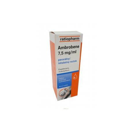 AMBROBENE 7,5 mg/ ml