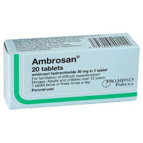 AMBROSAN (tbl 20x30 mg)