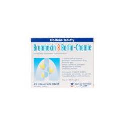 BROMHEXIN 8 BERLIN-CHEMIE (tbl obd 25x8 mg)
