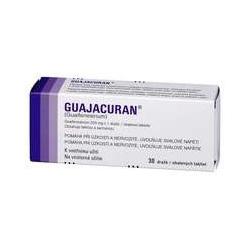 GUAJACURAN (tbl obd 30x200 mg (blis. Al/PVC))