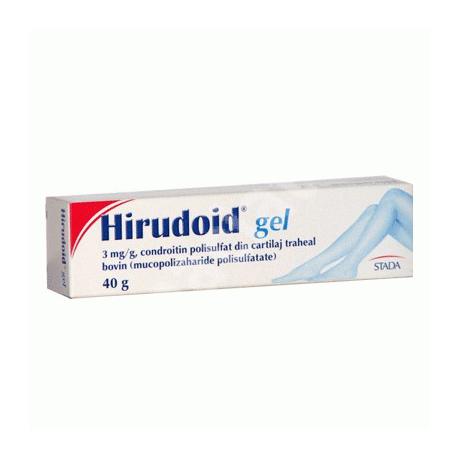 HIRUDOID gél 40g