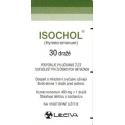 ISOCHOL tbl obd 30x400 mg (fľ. skl. hnedá)