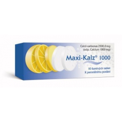 MAXI-KALZ 1000 tbl eff 10x1000 mg