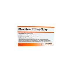 Mexalen sup 6x250 mg - momentálne nedostupný