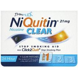 NIQUITIN CLEAR náplasti 7x 21mg -1. fáza-
