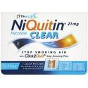 NIQUITIN CLEAR náplasti 7x 21mg -1. fáza odvykania