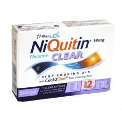 NIQUITIN CLEAR náplasti 7x 14mg -2. fáza-