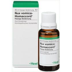 NUX VOMICA - HOMACCORD kvapky 30ml