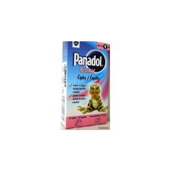 Panadol Baby sup 10x125 mg