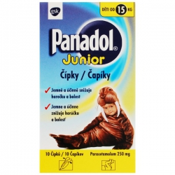 PANADOL JUNIOR čapíky 10x 250mg