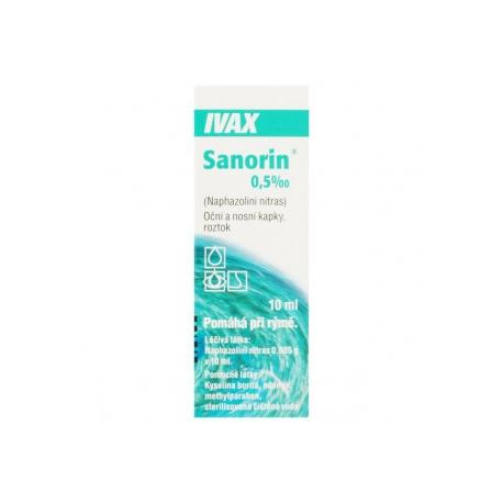 SANORIN 0,5 ‰ (int opn 1x10 ml)