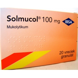 Solmucol 100 mg gra 20x1,5 g (vrec.)