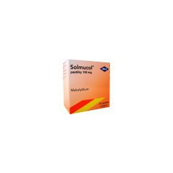 Solmucol pastilky 100 mg pas ord 24x100 mg