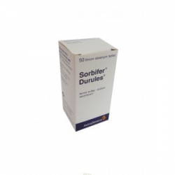 SORBIFER DURULES (tbl flm 50x100 mg)