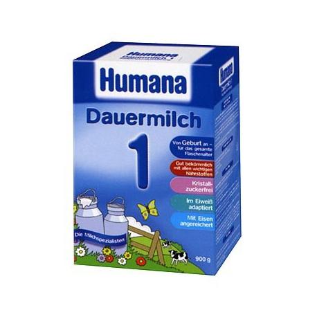 HUMANA 1 - mlieko pre novorodencov momentalne nedostupny