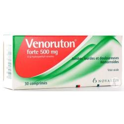 VENORUTON FORTE (tbl 30x500 mg)