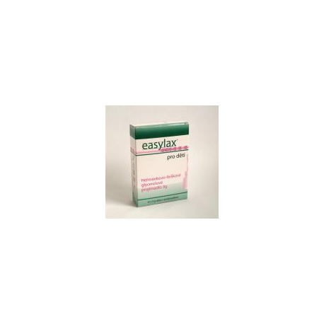 Easylax (pre deti (glycerolové preháňadlo s výťažkami z rastlín) 6x3 g)