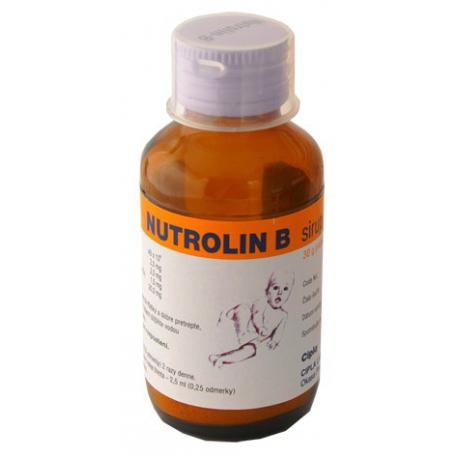 NUTROLIN B SIRUP (sir 1x60 ml)