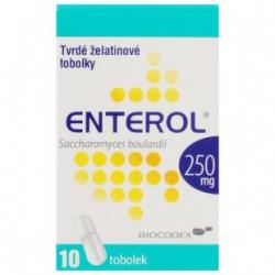 Enterol 250 mg prášok na perorálnu suspenziu plu por 10x250 mg (vrecko papier/Al/PE)