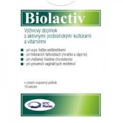 BIOLACTIV 10 VRECIEK (plv 1x10 ks)