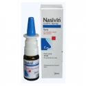 NASIVIN 0,05 % int nas 1x10 ml (fľaša sklenená, hnedá s kvapkadlom)