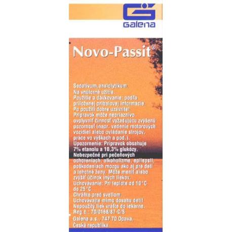 NOVO-PASSIT (sol por 1x100 ml (fľ.skl.hnedá))