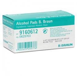 Alkoholové tampóny B.Braun samostatne balené