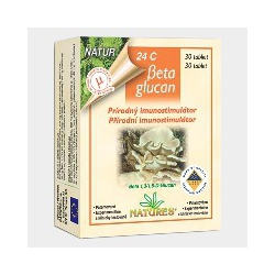 NATURES BETA GLUCAN 24C (tbl 30)