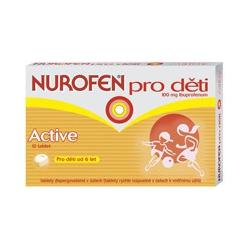 NUROFEN pre deti Active tbl oro 12x100 mg