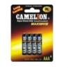Batérie jednorázové AAA 1.5V 4ks R03 zink-chlorid